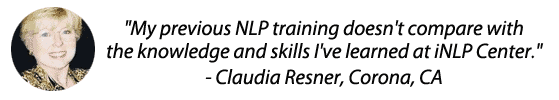 Claudia's nlp practitioner certification online