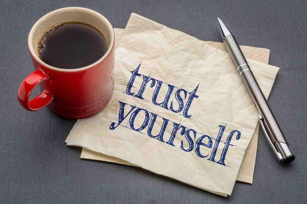 how to trust yourself confidence life coach