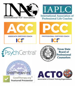 Life Coaching and NLP Training Accreditations